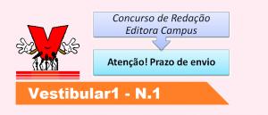 Atenção! Prazo de envio Concurso de Redação no Vestibular1