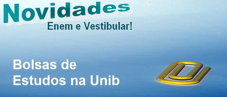 Bolsas de Estudos na Unib em Vestibular1