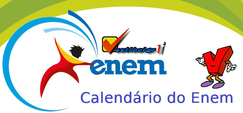 Calendário do Enem, vestibular