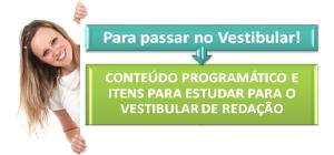 Conteúdo de Redação, Para passar no Vestibular, Redação