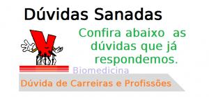 Dúvida de Carreira Biomedicina, biomédico