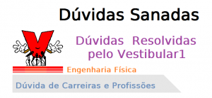 Dúvida da Carreira Engenharia Física, Vestibular1