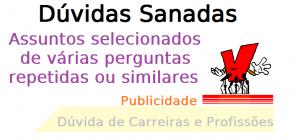 Dúvida de Carreira Publicidade, publicitário