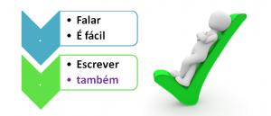 Falar é Fácil, Escrever Também com o Vestibular1 para vestibular