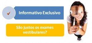 São justos os exames vestibulares? por Vestibular1