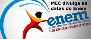 MEC divulga as datas do Enem, vestibular
