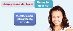 Metologia para interpretação de texto por Vestibular1