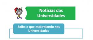 Notícias das Universidades