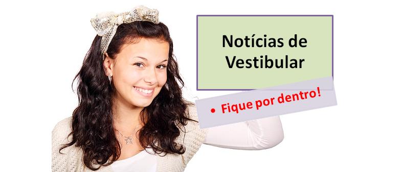 Notícia de vestibular e vestibulares