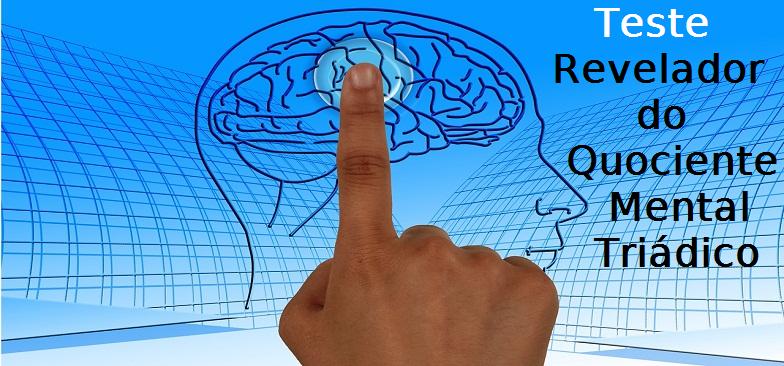 Lógica, Teste Revelador do Quociente Mental Triádico