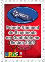 Prêmio Nacional de Excelência em Qualidade no Ensino para Vestibular1