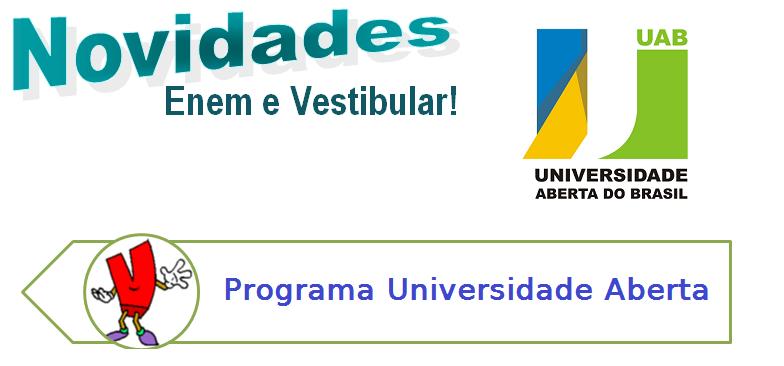 Programa Universidade Aberta, vestibular