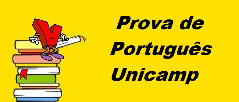 Prova Português Unicamp em Vestibular1