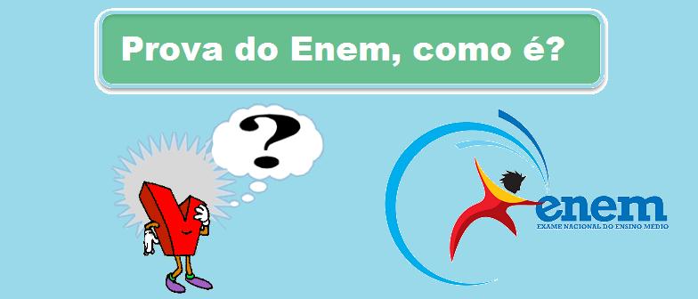 Prova do Enem, como é? por Vestibular1