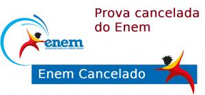Provas canceladas do Enem
