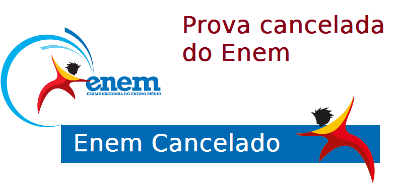 Provas canceladas do Enem