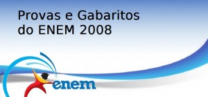 Provas e Gabaritos do ENEM 2008, Vestibular1