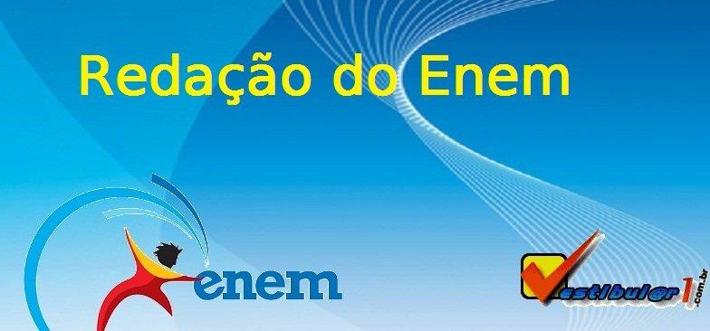 Redação do ENEM, Comentário da Redação do ENEM no Vestibular1