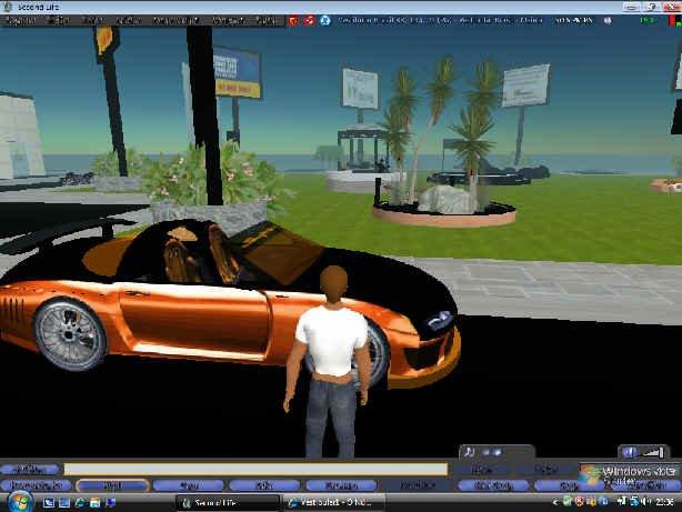 Carro da Equipe Vestibular1 no cyberespaço