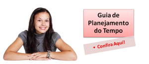 Guia de Planejamento do Tempo, guia exclusivo