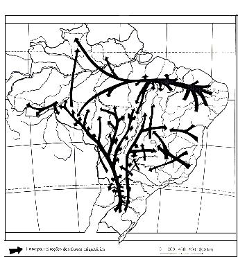 Geografia do Brasil Movimentos Migratórios exercícios específicos enem vestibular