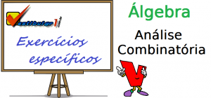 analise combinatoria vestibular enem exercicios