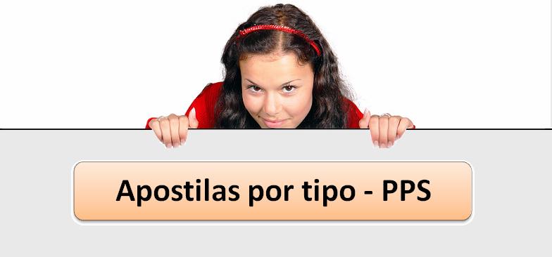 Apostilas por tipo PPS no Vestibular1