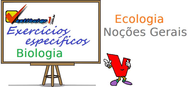 Biologia - Ecologia Noções Gerais enem vestibulares