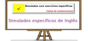 exercicios específicos de inglês exercicios específicos enem vestibulares