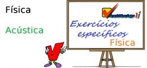 Física - Acústica ondas exercícios específicos enem vestibulares