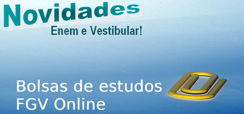 FGV Online disponibiliza novos cursos gratuitos, enem