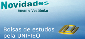 Bolsas de estudos pela Unifieo, vestibular
