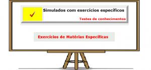 Exercícios específicos por matéria simulados com gabaritos enem vestibular