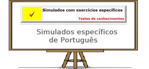 Exercícios específicos de português online com gabarito enem vestibular