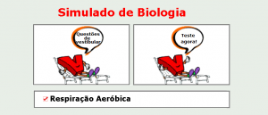 Biologia - Respiração Aeróbica simulado matéria especifica com gabarito vestibular enem