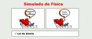 Física - Lei de Stevin simulado com gabarito matéria específica vestibulares enem