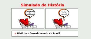 História - Descobrimento do Brasil simulado de matérias específicas com gabarito enem vestibular
