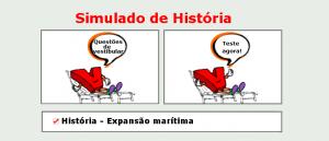 História - Expansão marítima simulado de matérias específicas com gabarito enem vestibular