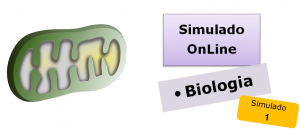 Simulados online de Biologia 01 com gabarito enem vestibular