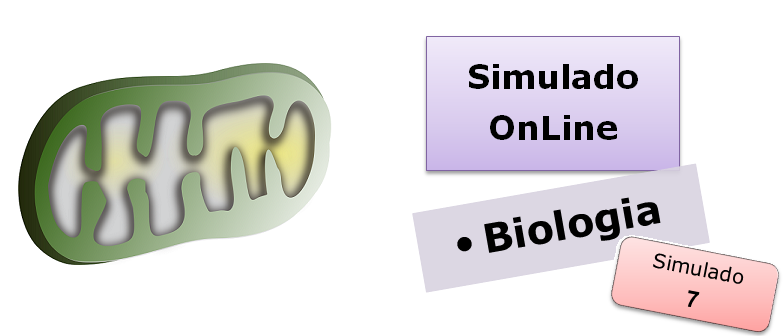 Simulado online de Biologia 07 Simulado online de Biologia com gabarito vestibular enem