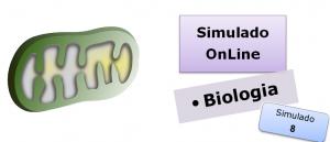 Simulado online de Biologia 08 Simulado online de Biologia com gabarito enem vestibulares