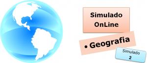 Simulado online com gabarito de Geografia 02, vestibulares enem