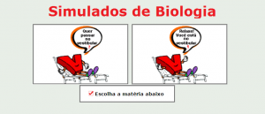 simulados de biologia matéria específica com gabarito vestibular enem