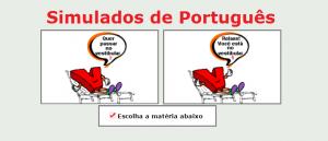 Simulados de português Simulado matérias específicas de Português com gabarito enem vestibular