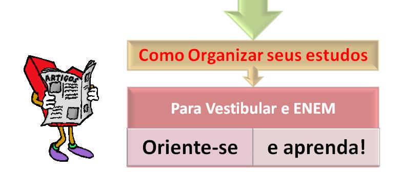 Como Organizar seus estudos para Vestibular e ENEM com vestibular1