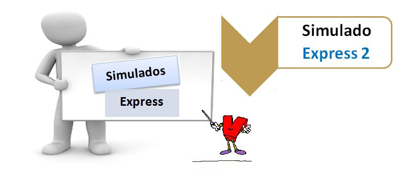 Simulado Express 2 - Simulado expresso - Teste seus conhecimentos no Vestibular1