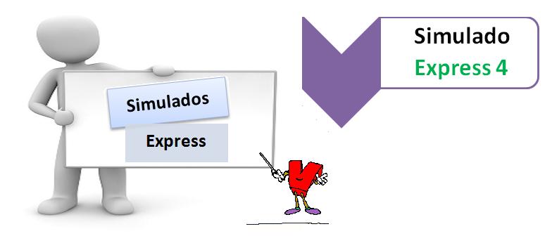Simulado Express 4 - Simulado expresso - Teste seus conhecimentos no Vestibular1, vestibular