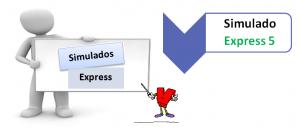 Simulado Express 5 - Simulado expresso - Teste seus conhecimentos no Vestibular1