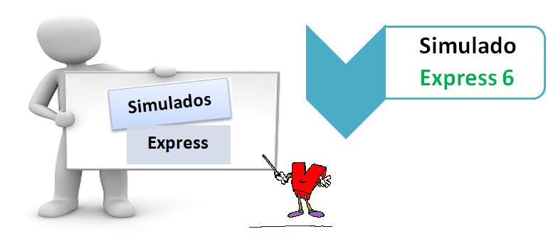 Simulado Express 6 - Simulado expresso - Teste seus conhecimentos no Vestibular1