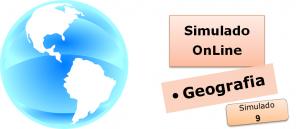 Simulado online com gabarito de Geografia 09 vestibulares enem